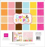 Echo Park Paper Company - Candy Shoppe - Dots & Stripes