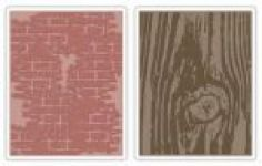 Tim Holtz - Embossing Folders