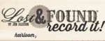 My Mind's Eye - Lost & Found - Record It - Heirloom