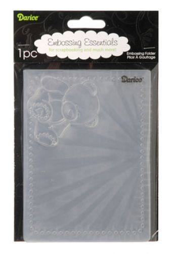 Darice - Embossing Essentials - Embossing Folder - Baby