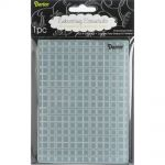 Darice - Embossing Essentials - Embossing Folder - Plaid