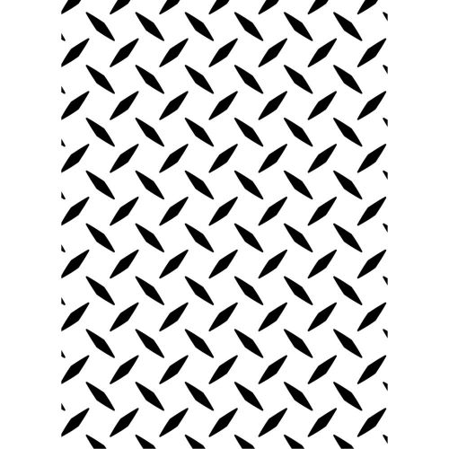 Darice - Embossing Essentials - Embossing Folder - Diamond Plate Pattern