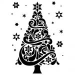 Darice - Embossing Essentials - Embossing Folder - Christmas Tree