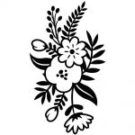 "Darice - Embossing Essentials - Embossing Folder 4.25""X5.75"" - Small Floral Sprig"