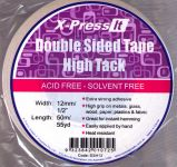 Xpress It Double Sided Tape - High Tack 12mm x 50m