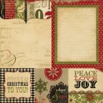 Simple Stories - 25 Days of Christmas - 4x4 Quotes & 6x8 Photo Mat Elements