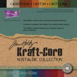 "Darice - Core' dinations Kraft Core - By Tim Holtz - Nostalgic Collection - 6""X6"" 48/Sheets"