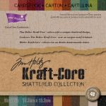 "Darice - Core' dinations Kraft Core - By Tim Holtz -  Shattered Collection - 6""X6"" 48/Sheets"