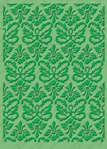 Cuttlebug - Embossing Folder - 5 x7 - Kassies Brocade