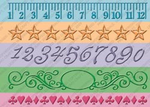 Cuttlebug - Embossing Borders - Measure by Measure 7""