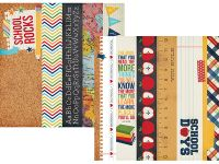 Simple Stories - Smarty Pants - 2x12 Border & 4x12 Title Strip Elements