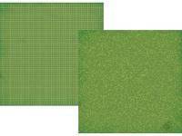 Simple Stories - Smarty Pants - Green Composition/Grid 12x12 Simple Basics