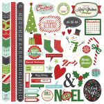 Simple Stories - December Documented - Fundamental 12x12 Sticker