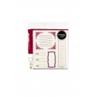 American Crafts - Remarks Stickers - Journaling Book one Colour set 1 & 3
