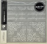 American Crafts - Mini Marks Rubon book - Elegent Book One - White