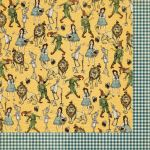Graphic 45 - The Magic of Oz Collection - Yellow Brick Road