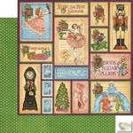 Graphic 45 - Nutcracker Sweet - Holiday Magic Patterned Paper