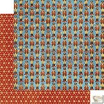 Graphic 45 - Nutcracker Sweet - Christmas March Patterned Paper