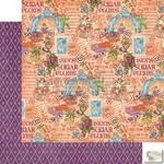 Graphic 45 - Nutcracker Sweet - Sugar Plum Fairy Patterned Paper