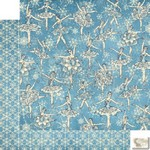 Graphic 45 - Nutcracker Sweet - Snowflake Waltz Patterned Paper