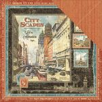 "Graphic 45 - Cityscapes Collection - Double-Sided Cardstock 12""X12"" - Cityscapes"