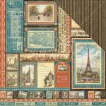 "Graphic 45 - Cityscapes Collection - Double-Sided Cardstock 12""X12"" - Global Odyssey"