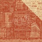 "Graphic 45 - Cityscapes Collection - Double-Sided Cardstock 12""X12"" - Street Of Dreams"