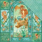 "Graphic 45 - Voyage Beneath the Sea Collection - Double-Sided Cardstock 12""X12""- Voyage Beneath the Sea"