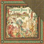 "Graphic 45 - Enchanted Forest Collection - Double-Sided Cardstock 12""X12""- Enchanted Forest"