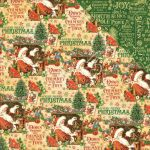 "Graphic 45 - St Nicholas Double-Sided Cardstock 12""X12"" - Santa's Workshop"