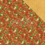 "Graphic 45 - St Nicholas Double-Sided Cardstock 12""X12"" - Holly Daze"