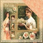 "Graphic 45 - Portrait of a Lady Collection - Double-Sided Cardstock 12""X12"" - Portrait Of A Lady"