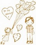 Prima Marketing Inc - Clear Stamp Celebrate with Jack and Jill