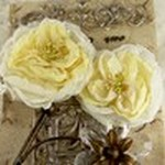 Prima Marketing Inc - Prima Flowers - Parfait Collection Butter Cream