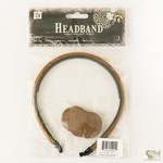 Prima Marketing Inc - Headband 8mm Brown