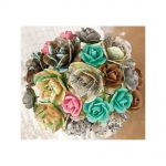 Prima Marketing Inc - Lifetime - Wire Stem Paper Flowers