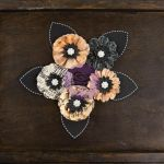 Prima Marketing Inc - Cartographer Collection - Paper Flowers - Voyager