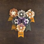 Prima Marketing Inc - Cartographer Collection - Paper Flowers - Explorer