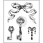 "Prima Marketing Inc - Epiphany Collection - Clear Stamps 2.5""X3"" #1"