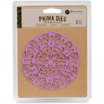 Prima Marketing Inc - Prima Purple Metal Die - Victorian Lace.