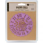 Prima Marketing Inc - Prima Purple Metal Die - Vintage Clock