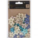 "Prima Marketing Inc - French Riviera Collection - Flowers 1"", 48/Pkg - Plages Du Prado"