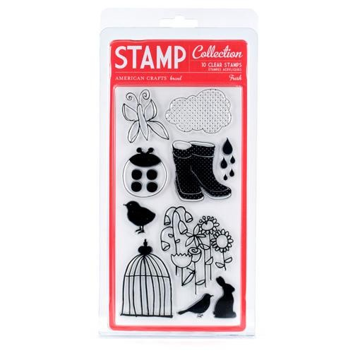 American Craft - Clear Stamp - Fresh