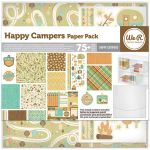 We R Memory Keepers - Happy Campers - Paper Pack