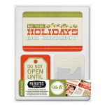 We R Memory Keepers - Albums Made Easy - North Pole Collection - 100 Double Sided Journaling Cards