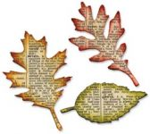 Sizzix - Tim Holtz - Alterations - Bigz Die - Tattered Leaves