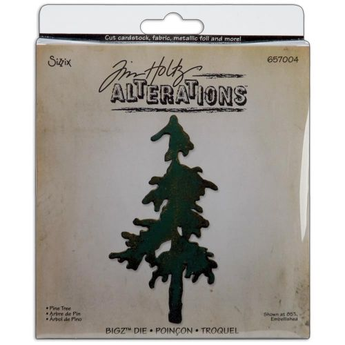 Sizzix - Tim Holtz - Alterations - Bigz Die - Snow Tree