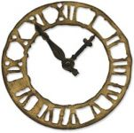Sizzix - Tim Holtz - Alterations - Weathered Clock