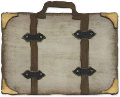 Sizzix - Tim Holtz - Alterations - Movers and Shapers - Vintage Valise