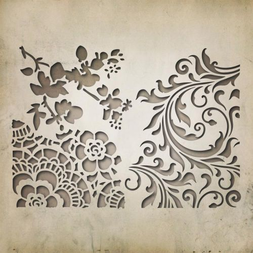 Sizzix - Tim Holtz - Alterations - Thinlits Die 3/Pkg By Tim Holtz - Mixed Media #2